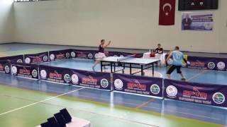 Cihat Ezgi Murat Işık inebolu masa tenisi turnuvası yarı final