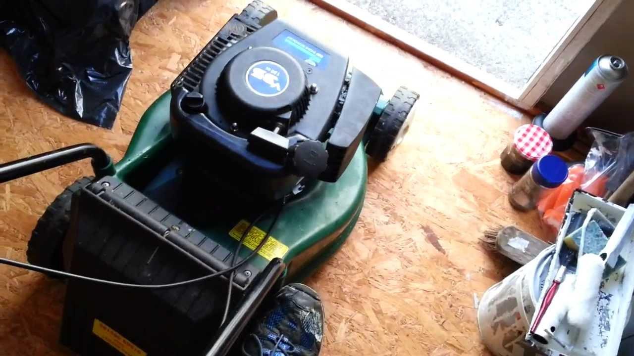 Chinese Sumec Linhai Sv150 Lawnmower Engine Youtube