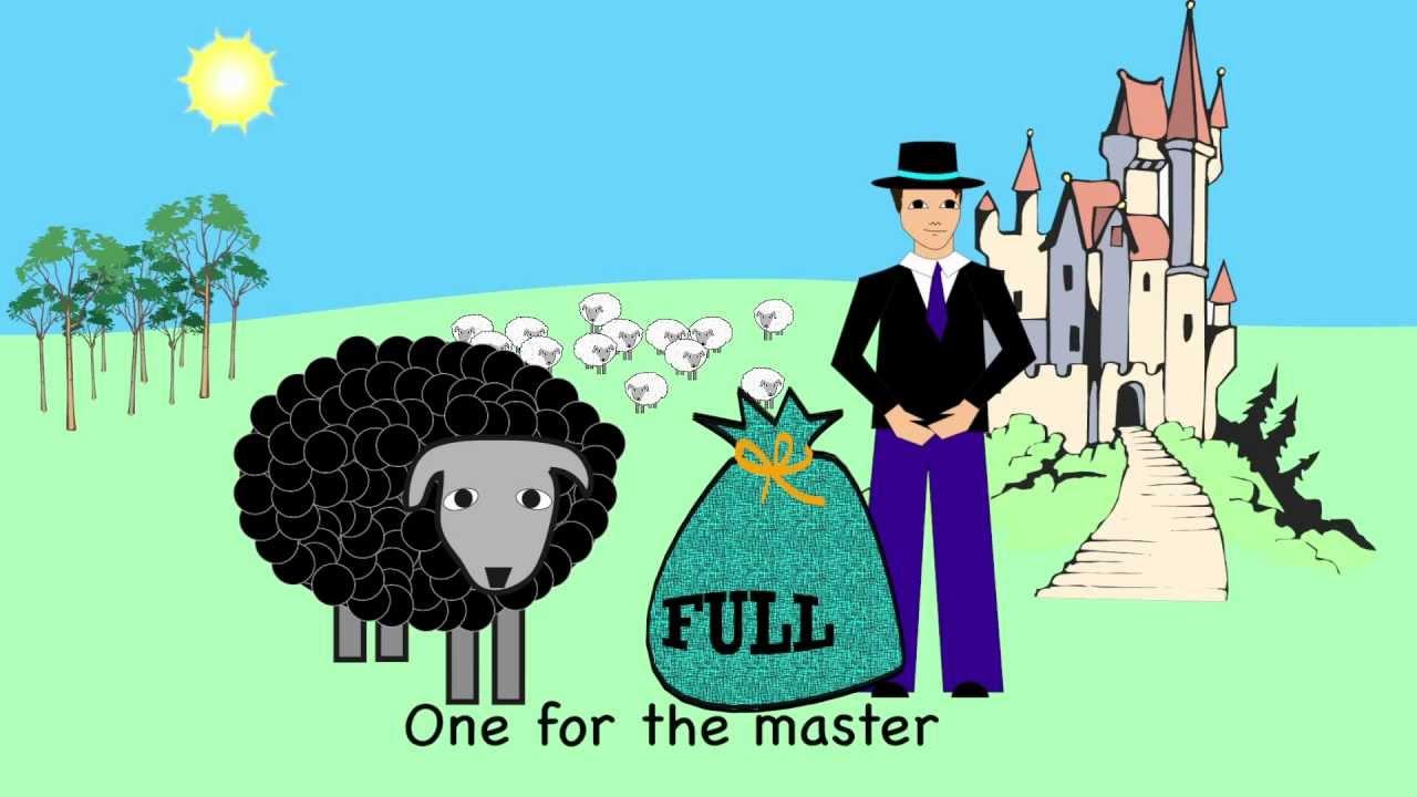 Nursery Rhyme - Baa Baa Black Sheep - YouTube
