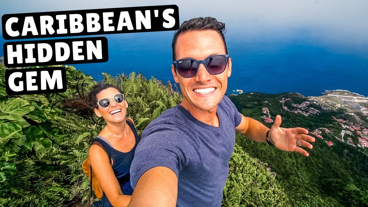 24 HOURS on the SMALLEST ISLAND in the Caribbean | Saba Travel Vlog
