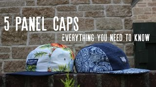 5 Panel Caps | How to wear and pair | Teen Style Advice