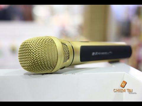 [Chiếm Tài Mobile] - Giới thiệu Micro Bluetooth Karaoke Tuxun K9