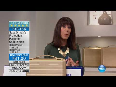 HSN | Suze Orman Financial Solutions for You 01.21.2017 - 06 PM