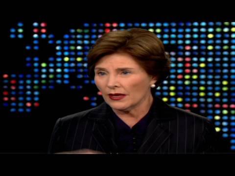 Laura Bush on childhood accident