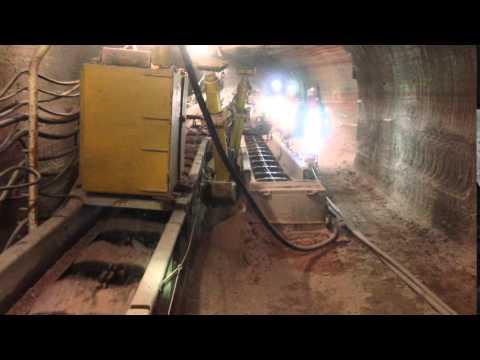 Underground transport of mineral