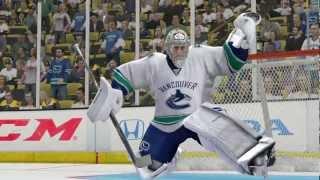 EA SPORTS TV - podrobně o brankářích NHL 13