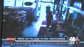 Thieves using aluminum foil in recent crime trend