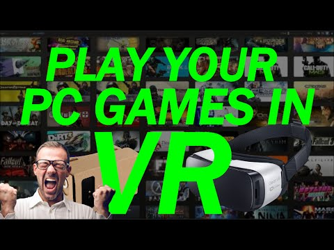 How To Play PC Games On Your Gear VR Or Google Cardboard (How to Set Up Trinus + Tridef3D)