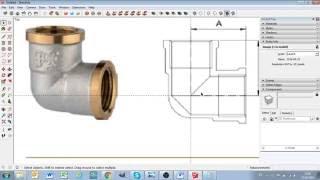 Строим 3D-модели сантехники в Sketchup - #уголок в-в