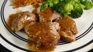 Slow Cooker Brown And Maple Sugar Pork Tenderloin- With Yoyomax12
