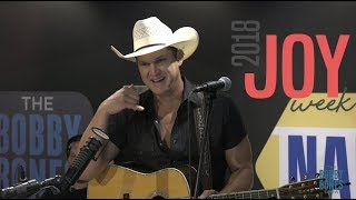 Jon Pardi Kicks Off Joy Week 2018 on the Bobby Bones Show