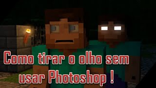 Cinema 4D - Como tirar os olhos de sua skin, SEM PHOTOSHOP !