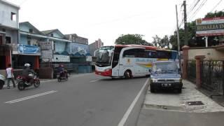 Klakson Telolet (NL-448) + Sirine Polisi Bus Rosalia Indah NL447 ex. LASCO