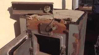 Твердопаливний  котел КЧММ-4 Рівне ч 1. Зовнішній вигляд та будова