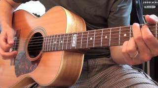 The Common Linnets -  Calm after the storm guitar tutorial lesson how to play