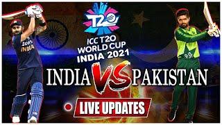 India Vs Pakistan Match LIVE Updates | T20 World Cup Score | Rohit Sharma, KL Rahul Out | 10TV