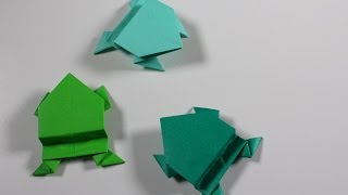Origami Insect : Jumping Frog