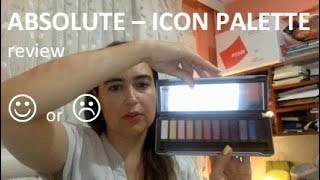 Review: ABSOLUTE ICON PALETTE