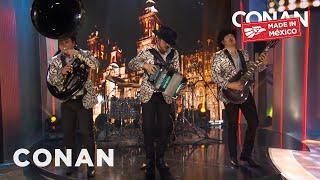 #ConanMexico House Band Calibre 50 Performs