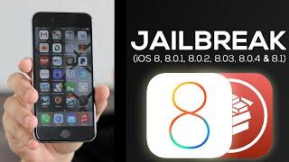 Como fazer JAILBREAK UNTETHERED no IOS 8.1 (8.0.X)