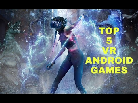 TOP 5 VR GAMES FOR ANDROID 2020  Online/0ffline   HIGH GRAPHICS