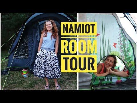 Nasz namiot ROOM TOUR jaki namiot w końcu kupiliśmy