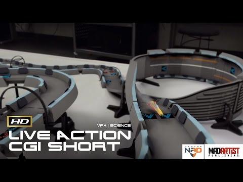 "Live Action CGI VFX Animated Short ""CONTROLLED QUANTUM LEVITATION"" Scientific film by Centre NAD"