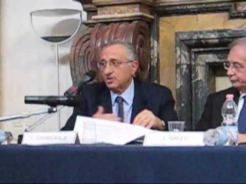VITO GAMBERALE   Il ruolo strategico delle reti gas ed elettricità   PARTE 1