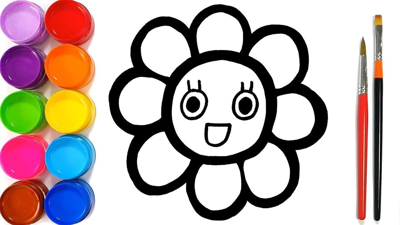Draw Lik A Pro A Hibiscus Flower Emoji Youtube