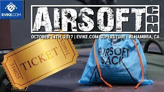 Sack of Con-ness - WIN AIRSOFT GUNS! - Airsoftcon 2017 - Airsoft Evike.com