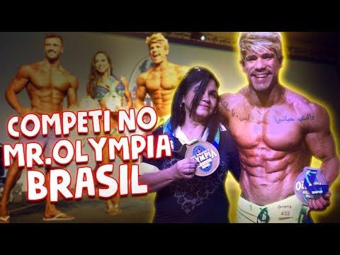 COMPETI NO MROLYMPIA BRASIL  VLOG 106