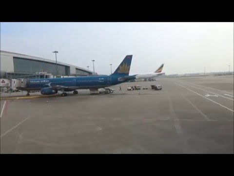 FLIGHT VIEW -TAKE OFF from GUANGZHOU AIRPORT 広州空港離陸-