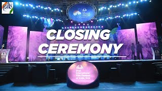 51st International Film Festival of India - Closing Ceremony