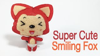 FOX #2 | SUPER CUTE SMILING FOX TUTORIAL