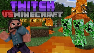Minecraft but TWITCH CONTROLS my GAME! This Sunday 4PM