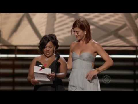 Kate Walsh & Chandra Wilson presenting at the 61st Primetime Emmy Awards 2009