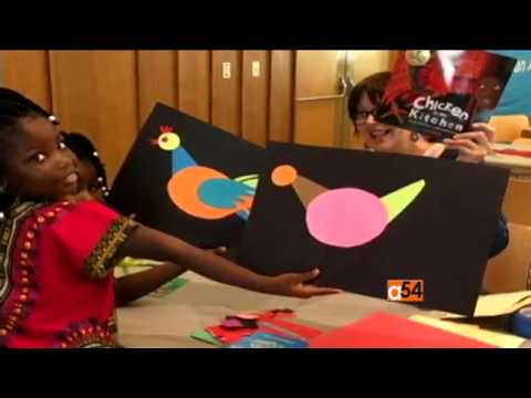 Paulette Mpouma talks to Vincent Makori about African Memory Game