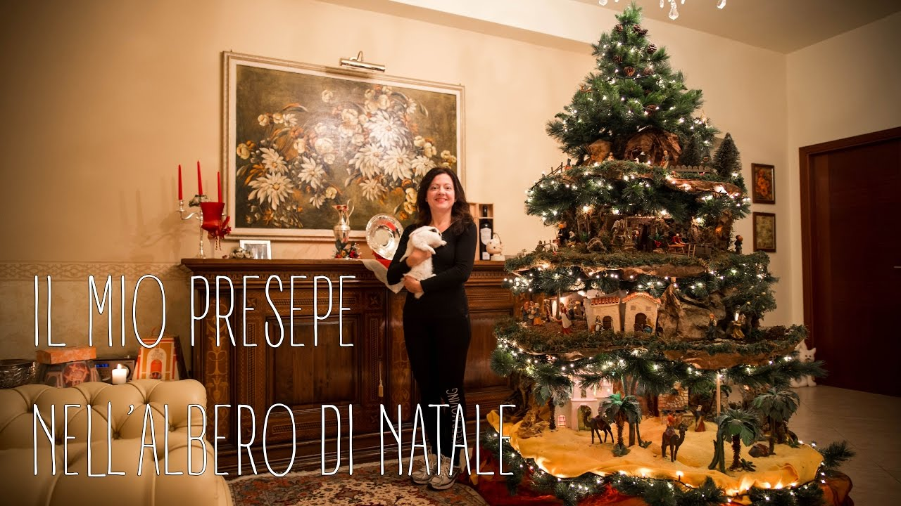 Il mio presepe nell 39 albero di natale 2016 my nativity for Obi albero di natale
