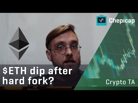 Ethereum likely to dip after hard fork, Bitcoin to $3800? | Cryptocurrency News | Chepicap