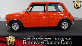 1975 Austin Mini Gateway Classic Cars #881 Houston Showroom