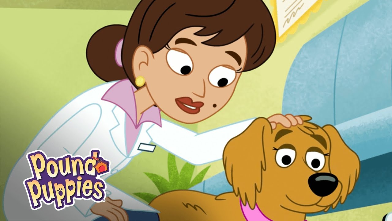 Pound Puppies Miss Petunia the Pregnant Dog