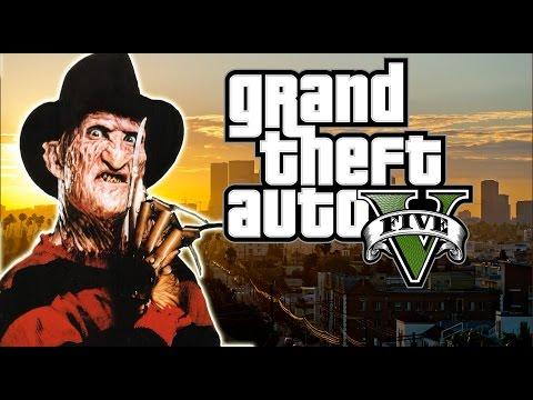GTA 5   Freddy Krueger Visits Los Santos