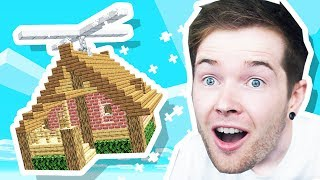 My Minecraft House CAN FLY!