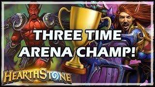 THREE TIME ARENA CHAMP! - Boomsday / Hearthstone