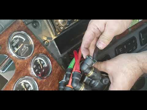 HOW TO REPLACE DASH VALVE  MV-3 ON FREIGHTLINER CASCADIA