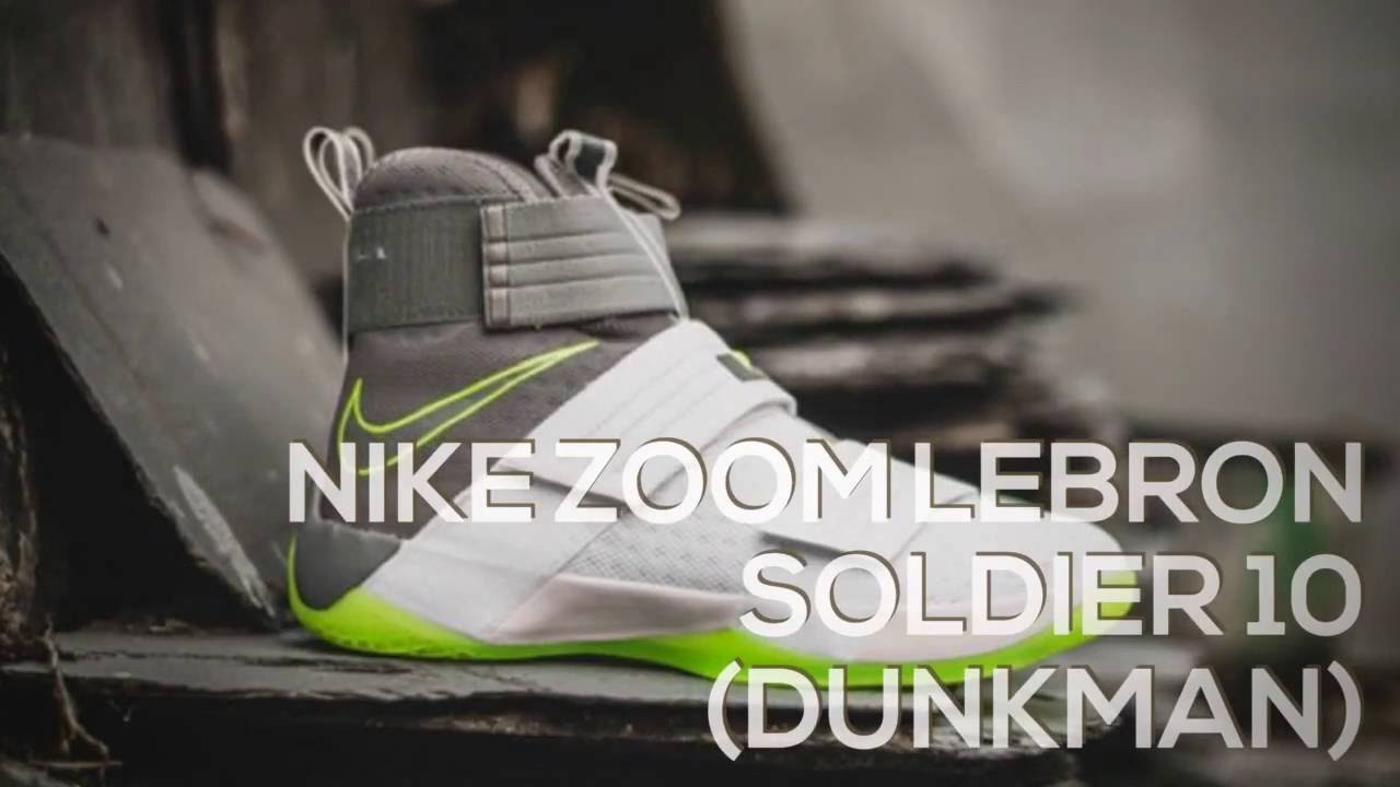 best loved c48a0 4c07a NIKE ZOOM LEBRON SOLDIER 10 (DUNKMAN)   PEACE X9