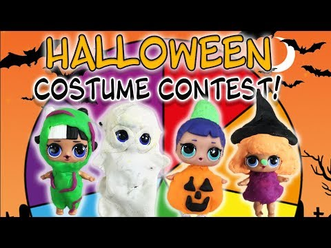 LOL Surprise Dolls Halloween Spin the Wheel Game Costume Contest! Featuring Countess, and Thrilla!