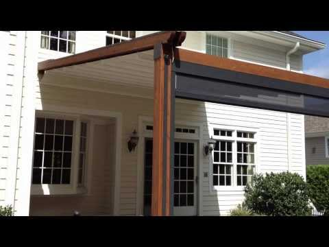 "Durasol Awnings ""The Gennius"" - A Waterproof Retractable Awning"