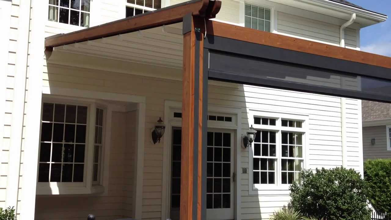 durasol awnings the gennius a waterproof retractable awning