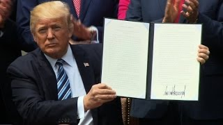 Trump signs religious liberty order (full event)